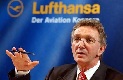 """Lufthansa-Chef Mayrhuber: """"Mehr Arbeit fürs gleiche Geld"""""""