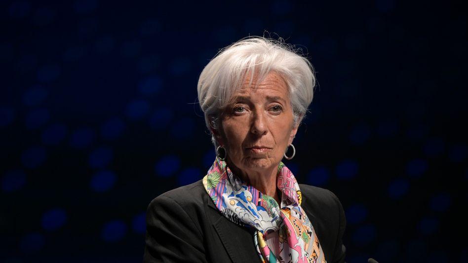 EZB-Präsidentin Christine Lagarde: Die Inflationsbändiger von der Notenbank könnten ein Problem bekommen