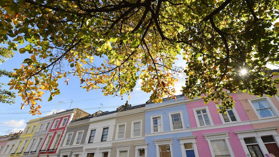 Stadthäuser in London: Bei ausländischen Investoren begehrt