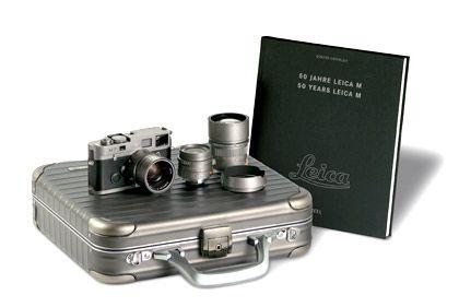 Set für 20.000 Euro: Titan-Kamera mit drei Objektiven