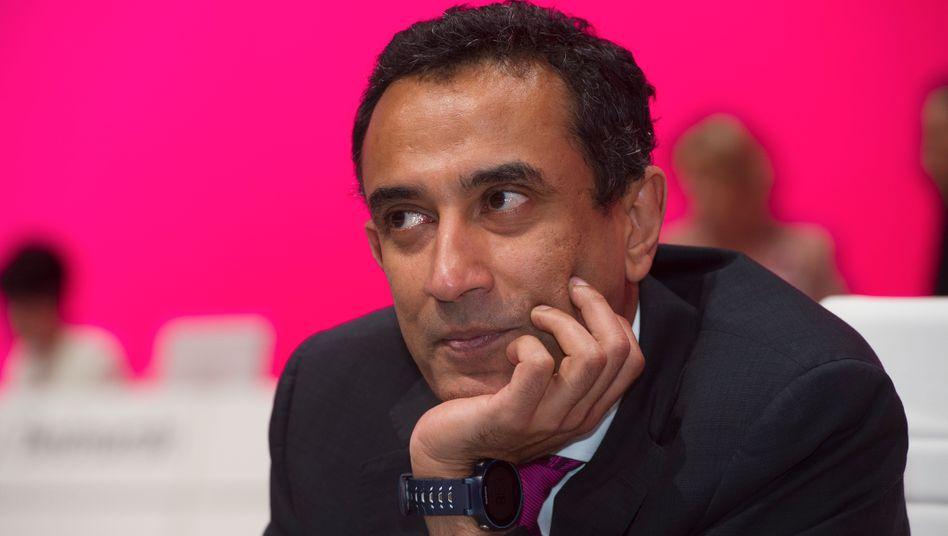 "Hoffnungsträger: Telekom-Vorstand ""Srini"" Gopalan."