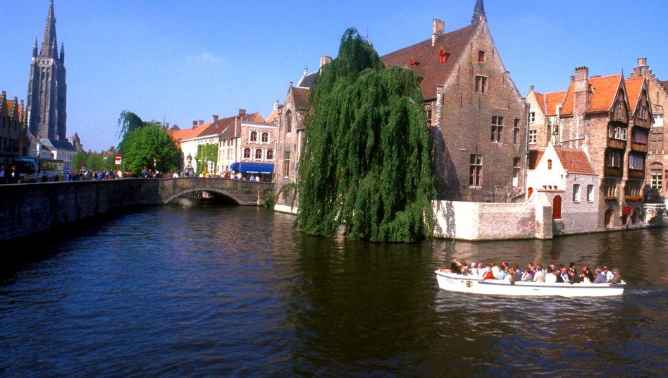 Belgiens mitteltalterliche Stadt Bruegge: Reiche Regionen tief im Westen Europas