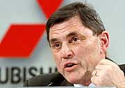 Geht in den Ruhestand: Mitsubishi-Lenker Rolf Eckrodt