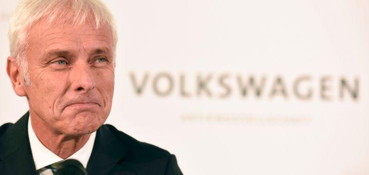 Volkswagen-Chef Matthias Müller: Interview-Aussagen später korrigiert