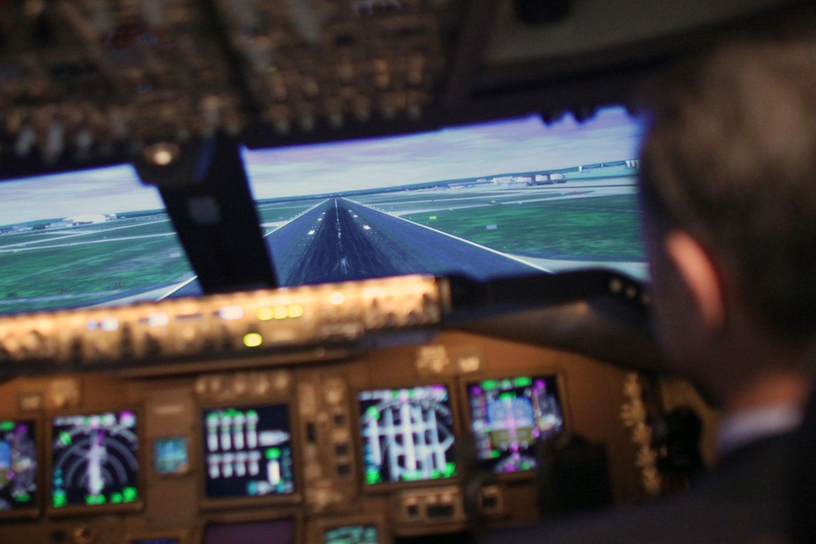 FlugsimulatorLufthansa Flight Training Center