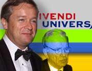 Generationswechsel: Vivendi-Chef Jean-Marie Messier (links) lässt den australischen Medienmogul Murdoch alt aussehen