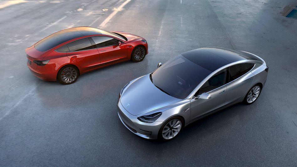 Model 3 von Tesla