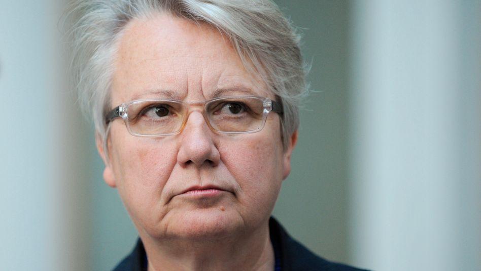 """""""Keine Quelle bewusst falsch angegeben"""": Bundesbildungsministerin Annette Schavan"""