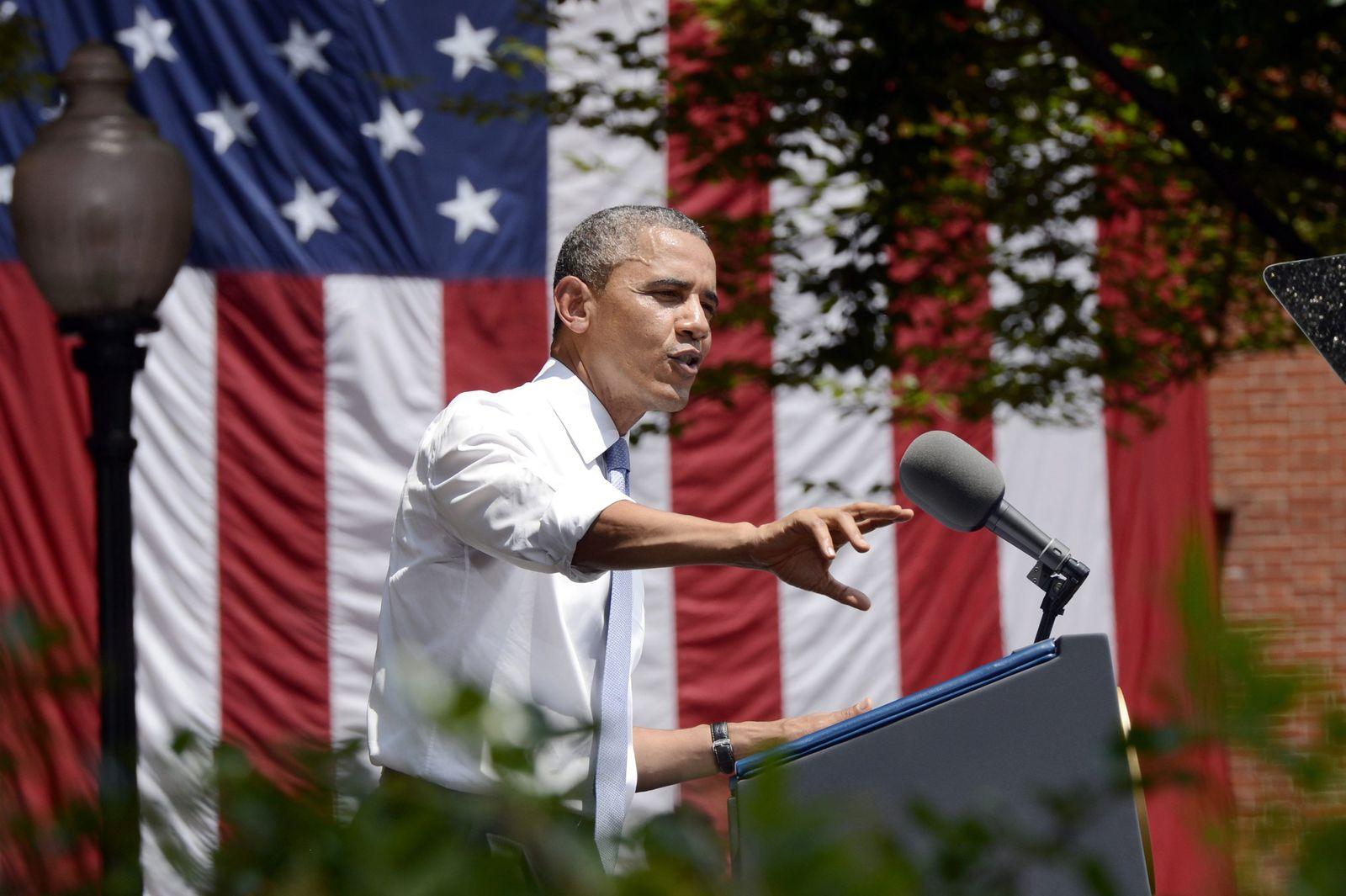 Barack Obama / KLimawandel