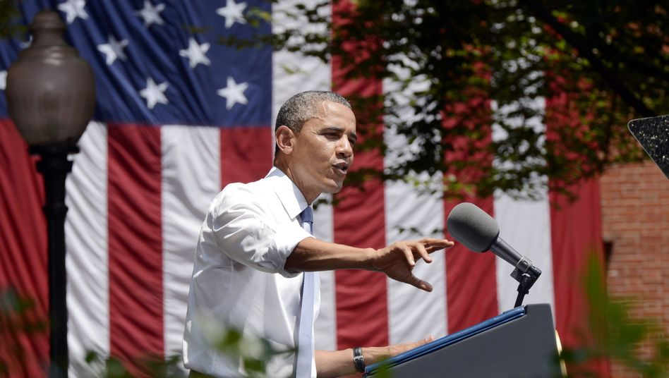 President Obama describes his plan to fight global warming during a speech at Georgetown University in Washington