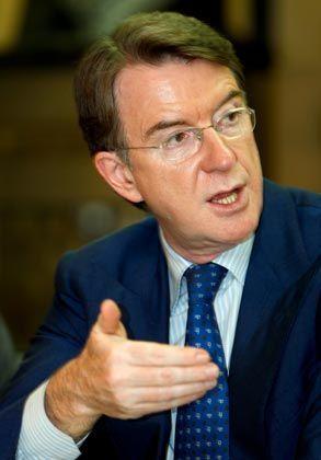 Mandelson: Will die Teilprivatisierung der Staatspost verschieben