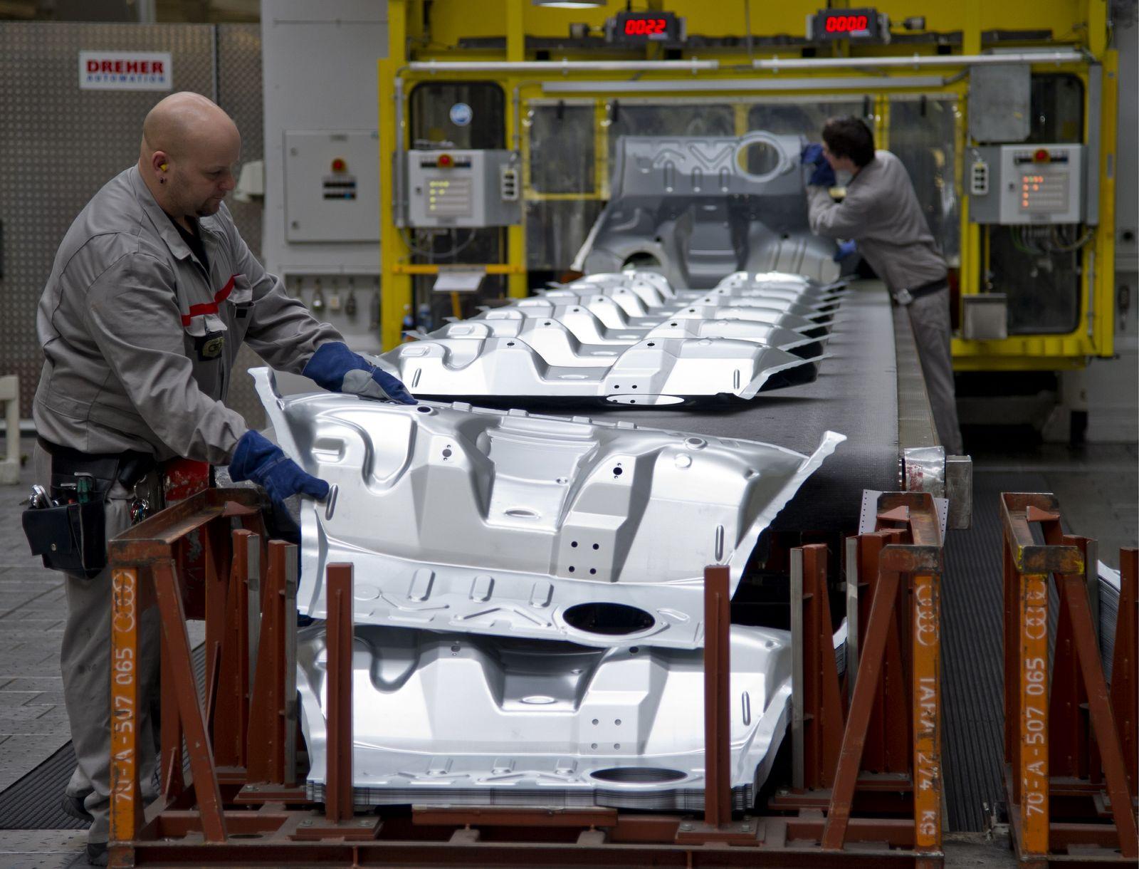 NICHT VERWENDEN Produktion bei Audi