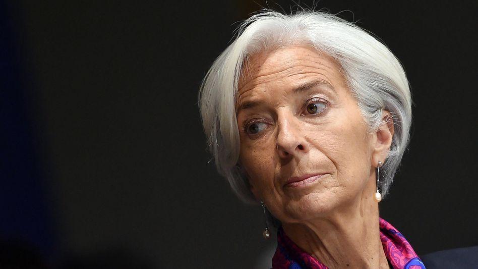 """Christine Lagarde: """"Es kann Jahre dauern, bis Großbritannien die Handelsbeziehungen mit der EU neu verhandelt hat"""""""