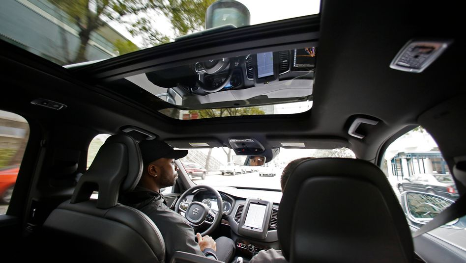 Uber verdient mit seinen Roboterautos offenbar noch kein Geld
