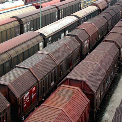 Versorgungsadern: Güterzüge am Rangierbahnhof Maschen bei Hamburg
