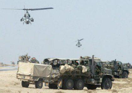 90 Kilometer bis Bagdad: Der Vormarsch der alliierten Truppen geht weiter