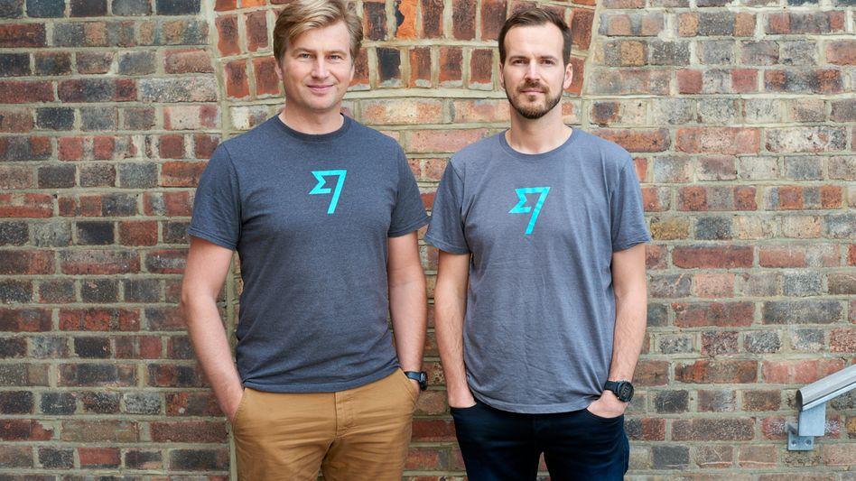 Die Gründer von Transferwise: Kristo Käärmann (l.) und Taavet Hinrikus (r.)