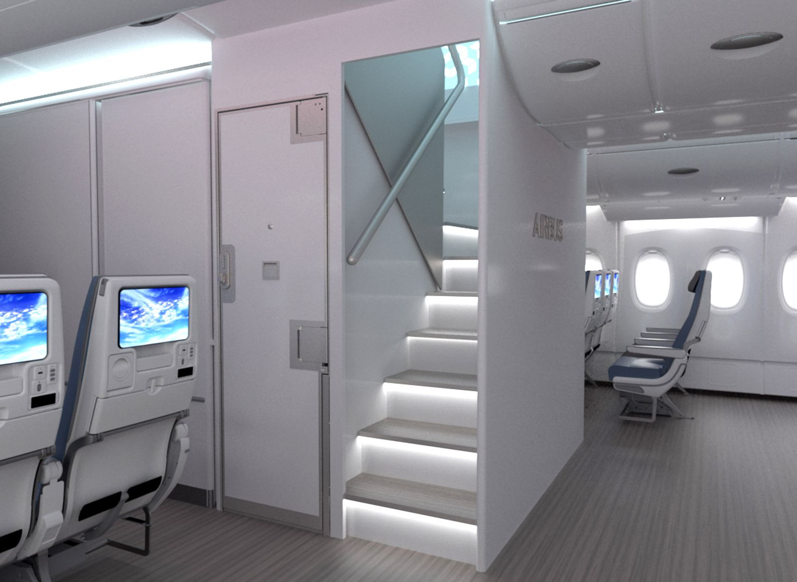 Airbus Treppe