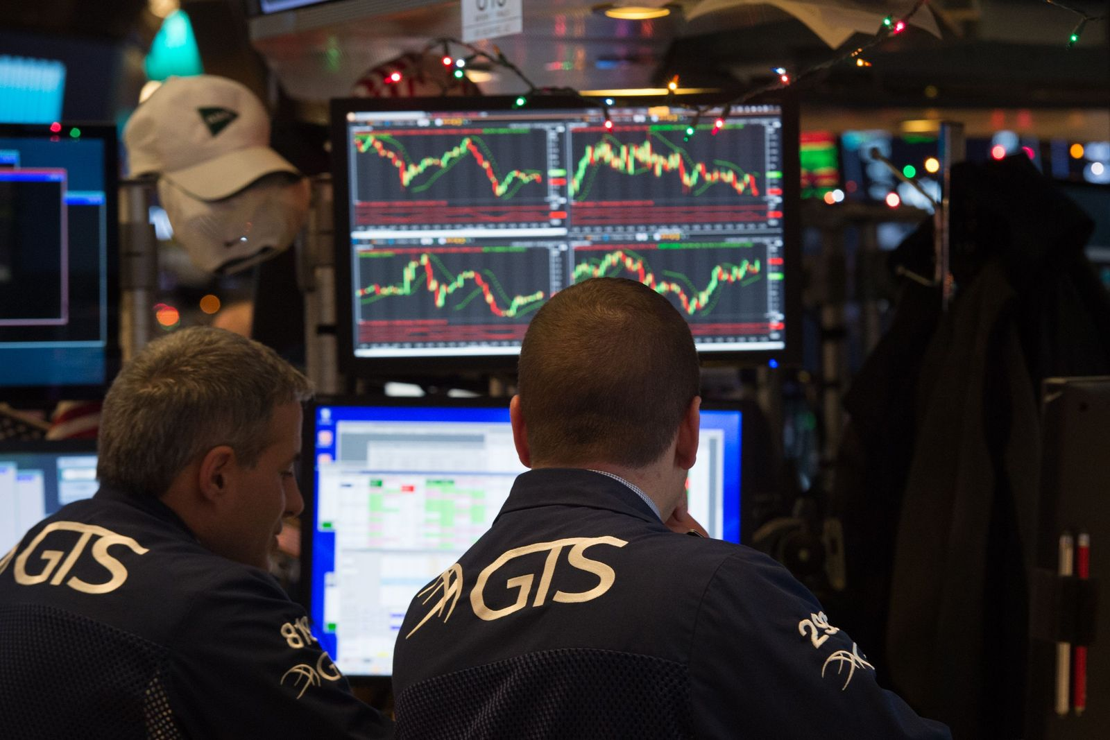 Konjunktur Börse/ US-WALL STREET-NYSE-STOCK-CLOSING
