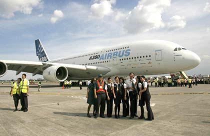 Noch nicht über den Berg: Problemflugzeug A380