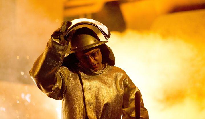 Stahlarbeiter bei der Salzgitter AG: Der Konzern ächzt ebenfalls unter der Corona-Belastung.