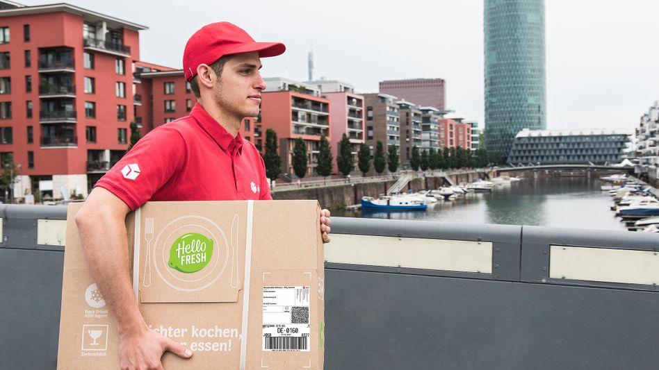 Kochbox von Hellofresh auf dem Weg: 250 Millionen Essen will das Unternehmen im Jahr 2019 weltweit ausliefern lassen