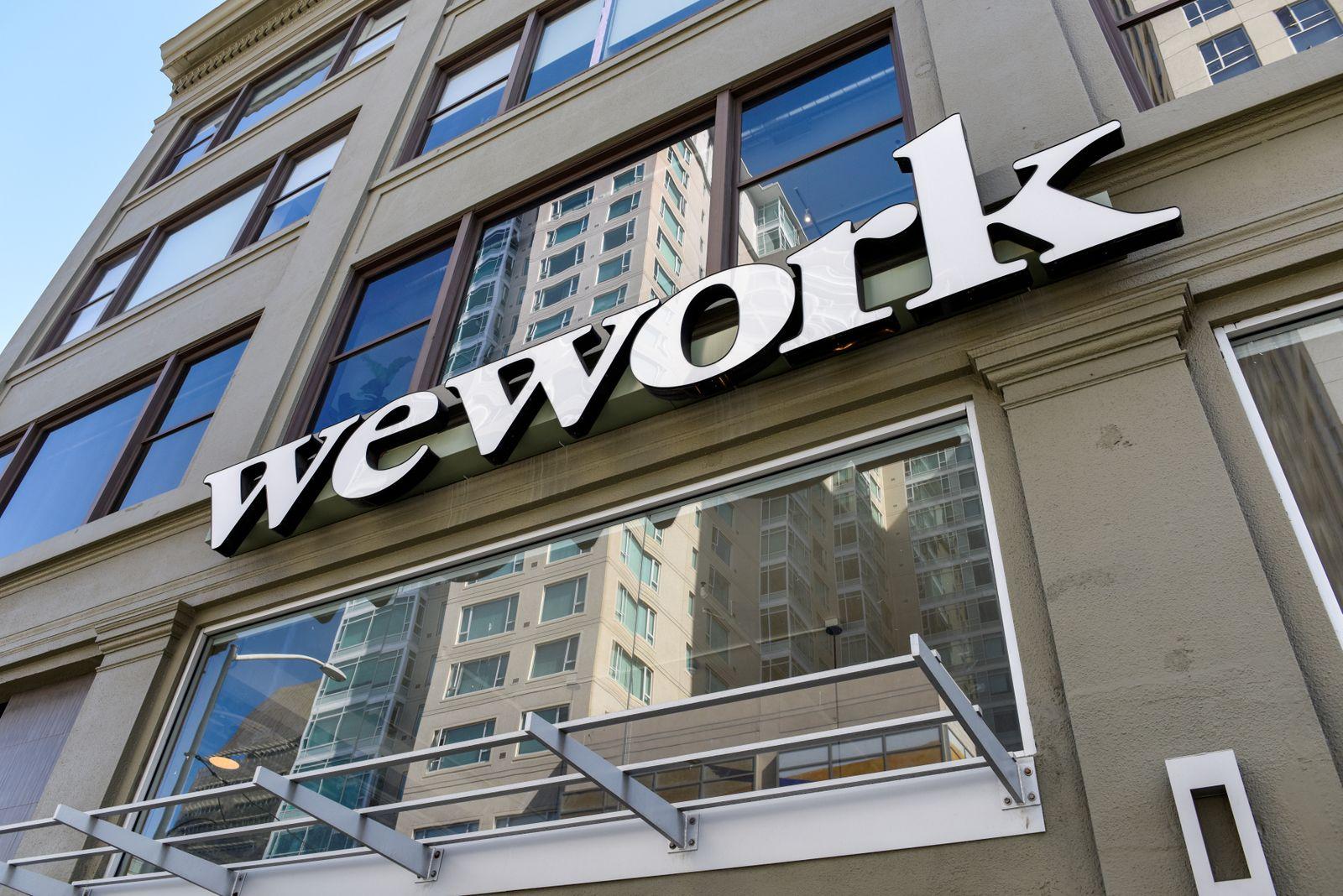 WEWORK-FINANCING/SOFTBANK GROUP