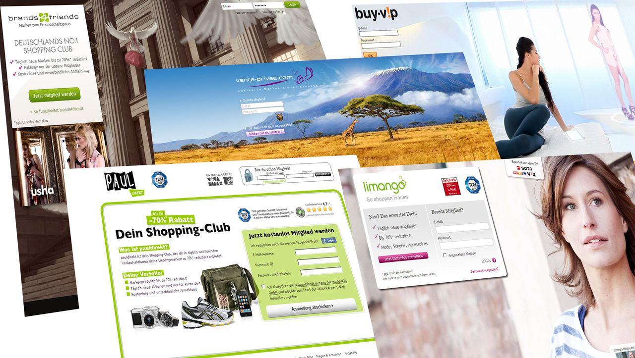 Online Shoppingclubs Rentable Resterampen   manager magazin