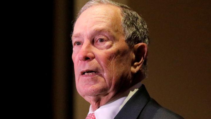 US-Präsidentschaftsanwärter gab 3,3 Milliarden Dollar: Als Spender ist Bloomberg schon die Nummer eins