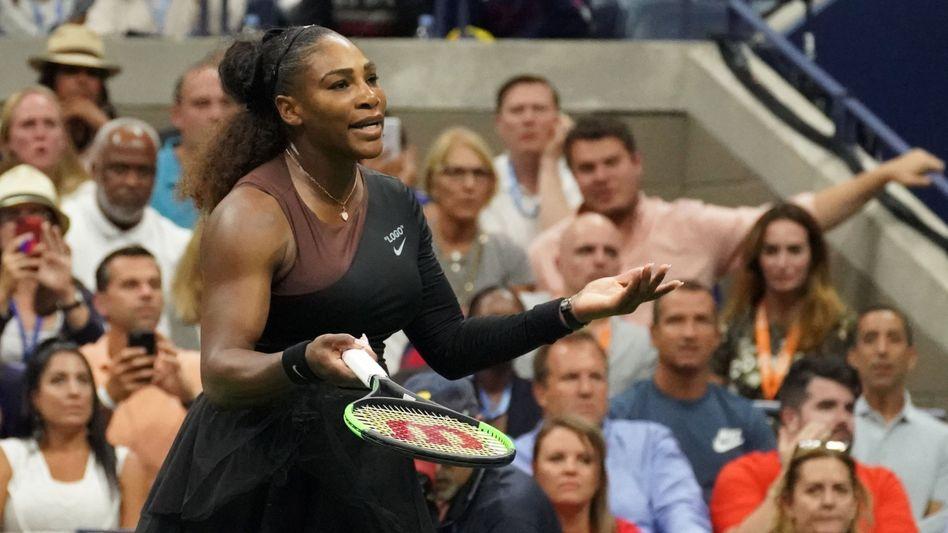 Promi-Werbung: Tennisstar Serena Williams trägt Nike