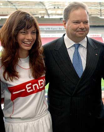 Fußballfan: Claassens Energiekonzern EnBW sponsert den VfB Stuttgart (Archivbild)