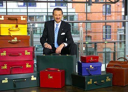 Sitzt meist auf gepackten Koffern: Egana-Chef Hans-Jörg Seeberger