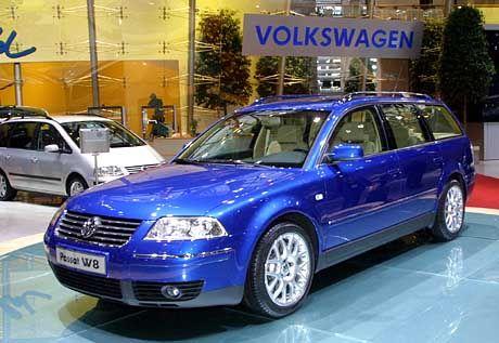 Der VW Passat W8 soll in der Oberklasse mitmischen