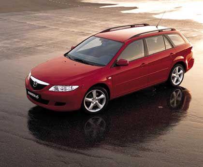 Fast schon europäisch: So viel eigenes Gesicht hatte die Konkurrenz von Opel & Co. dem 626-Nachfolger nicht zugetraut