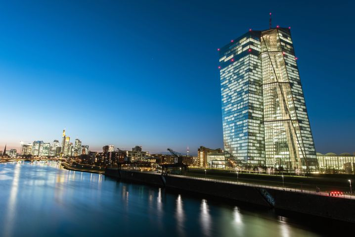 EZB-Tower in Frankfurt am Main