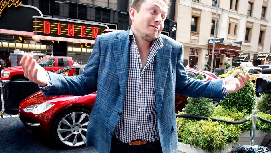 Muss sein, findet Elon Musk, Großaktionär von Tesla und Solarcity