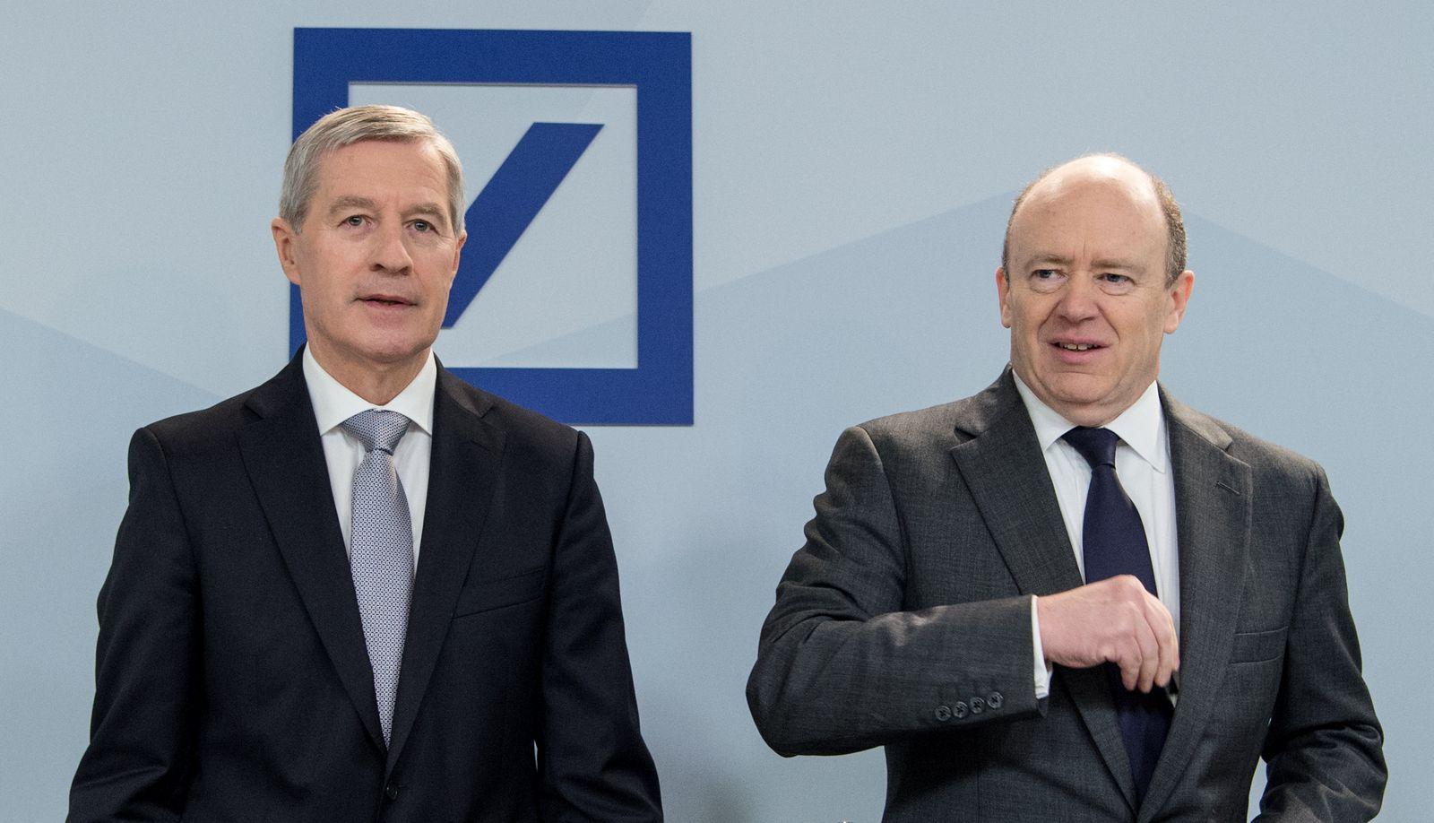 Deutsche Bank / Fitschen / Cryan