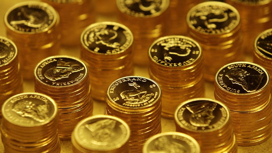 Krügerrand-Goldmünzen