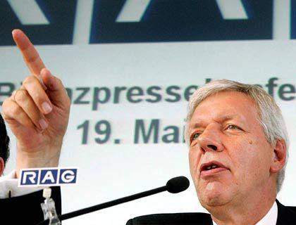 Will den Börsengang: RAG-Chef Werner Müller