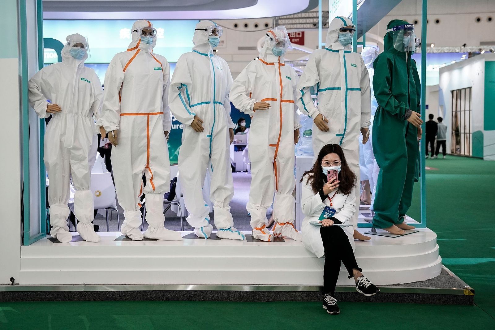 The 2nd World Health Expo In Wuhan After Outbreak Of Coronavirus