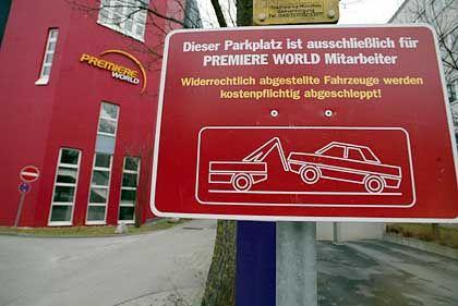 Produktionsgebäude bei Premiere World: 700 bis 900 Millionen Euro Programmkosten pro Jahr sind zu viel