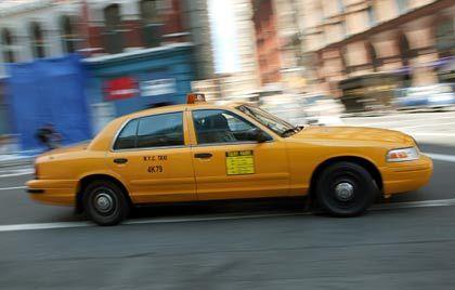 Hightech-Zwang: Schon bald kann man im Yellow Cab TV glotzen