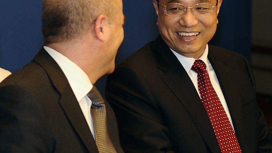Chinas Vizepremier Li Keqiang zu Besuch in Berlin: Charmeoffensive aus Eigeninteresse
