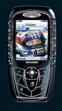 Ganz normales GSM-Handy: Das Siemens SX1