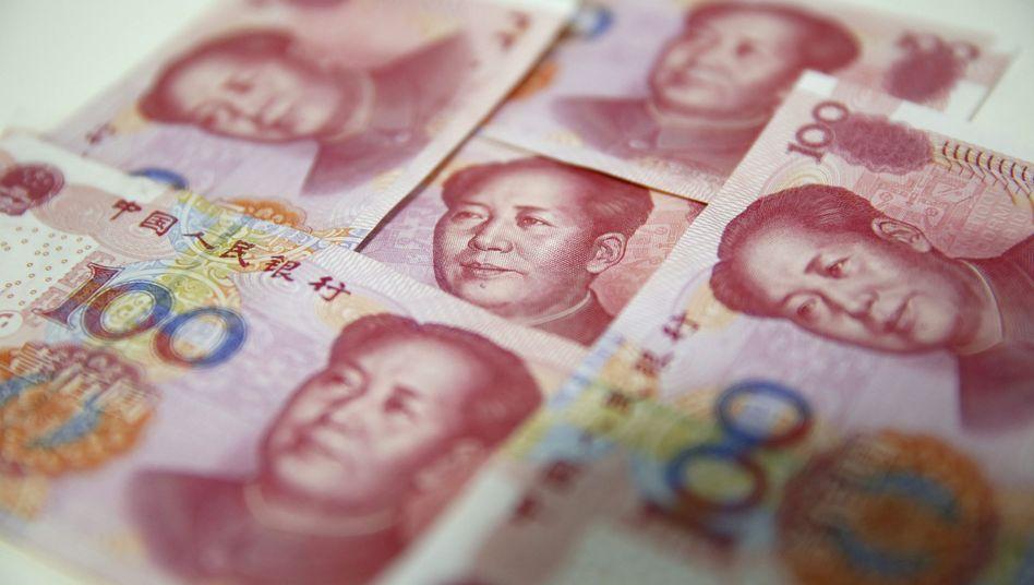Wechselkurs unter Einfluss der Politik: Ein schwächerer Yuan hilft China im Handelskonflikt mit den USA.