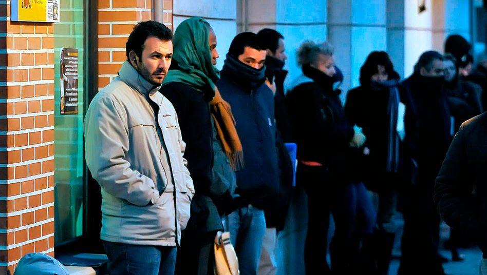 Jobsucher in Spanien: Arbeitslosigkeit droht weiter zu steigen