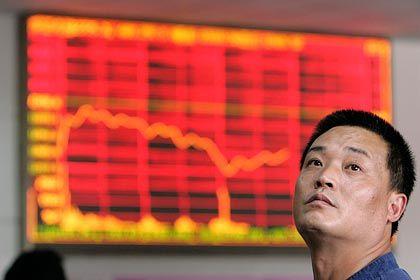 Heißgelaufen: Starke Kurskorrekturen sind an der Shanghaier Börse immer häufiger zu beobachten