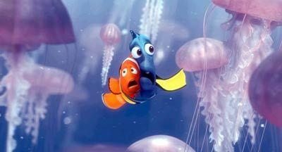 """Der Clownfisch Nemo wird von Tauchern entführt: """"Findet Nemo"""""""