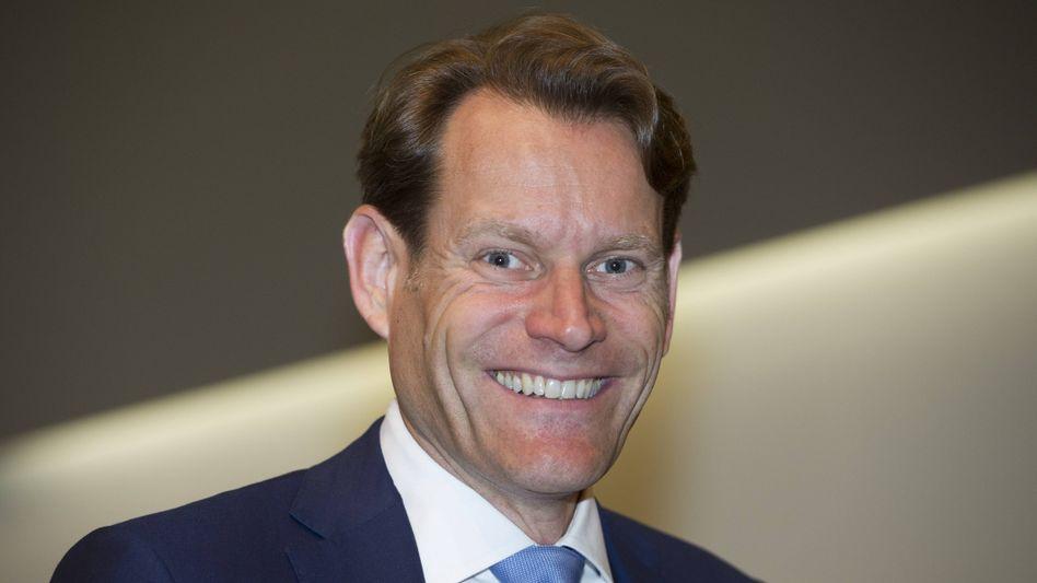 Guter Redner: Conti-Chef Nikolai Setzer weiß sich verständlich auszudrücken