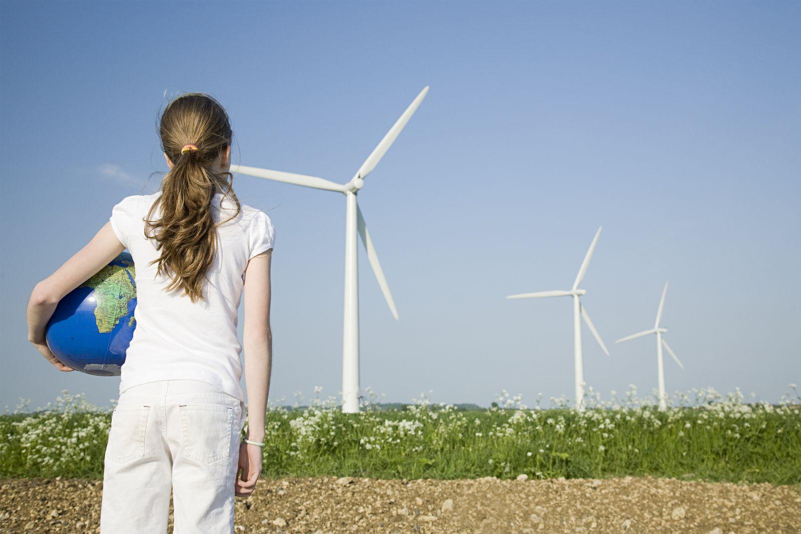 NICHT MEHR VERWENDEN! - Windrad / Windkraft